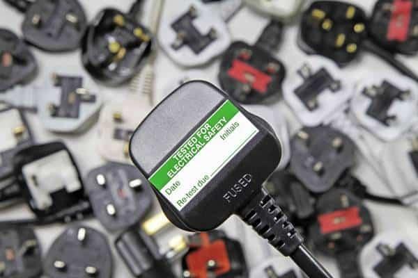 PAT Testing close up of plug